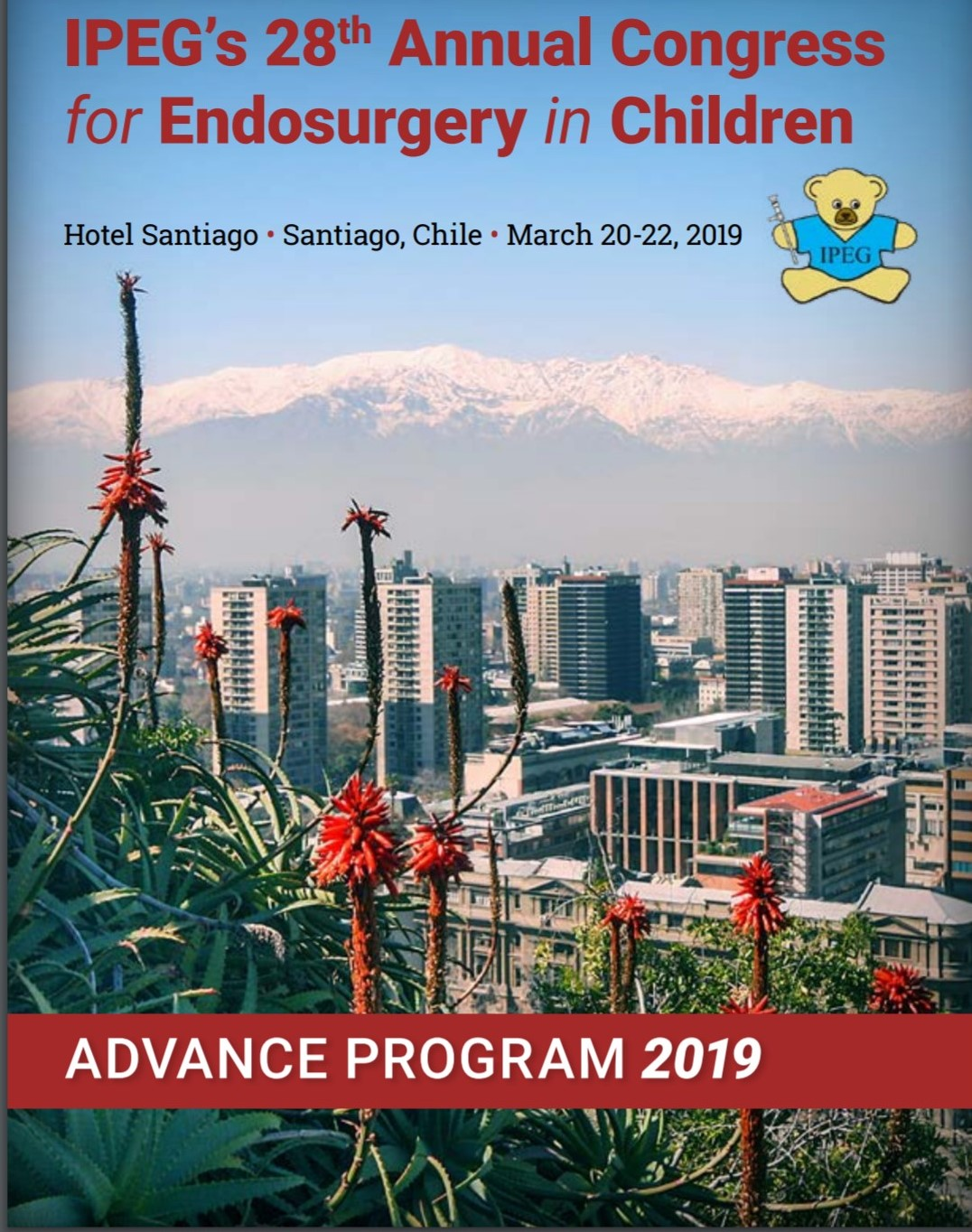 28th. Annual Congress for Endosurgery in Chiledren IPEG @ Hotel Santiago